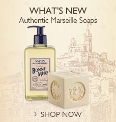 What's New. Authentic Marseille Soaps