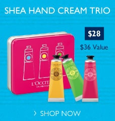 Shea Hand Cream Trio