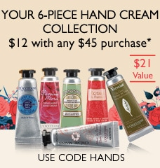 your 6 piece hand cream collection