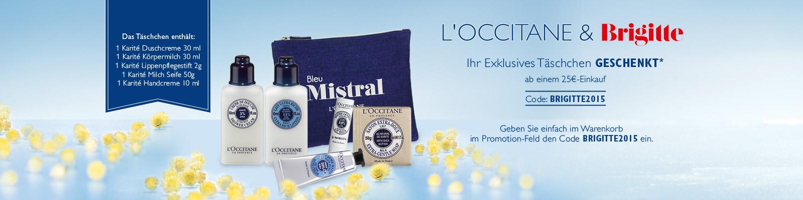 Willkommens-Angebot - L'Occitane Deutschland