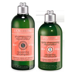 Duo Shampoo & Acondicionador para cabello Seco y Dañado