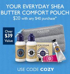 Use code COZY