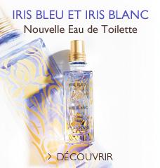 L'Occitane en provence - parfum Iris bleu & Iris blanc