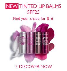 New Tinted Lip Balms SPF25