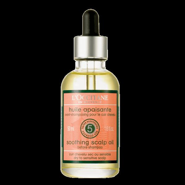 Успокаивающее масло для кожи головы