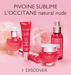 PIVOINE SUBLIME L'OCCITANE natural nude >