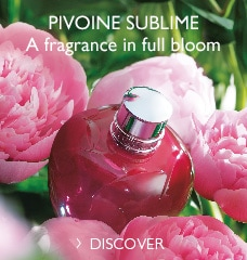 PIVOINE SUBLIME A fragrance in full bloom >
