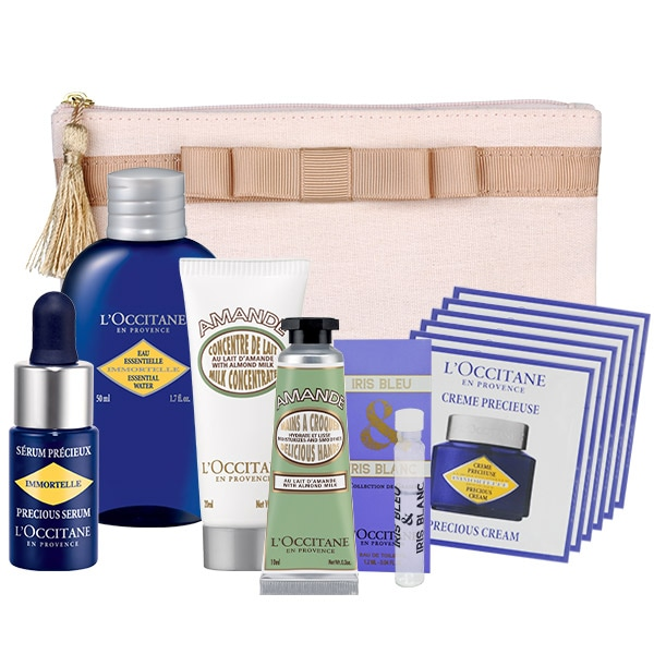 PAMPERING TRAVEL SET