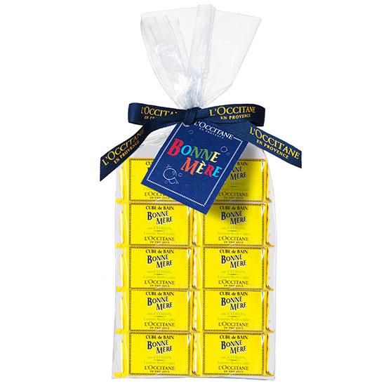 본느 메르 레몬 배쓰 큐브 10개입
