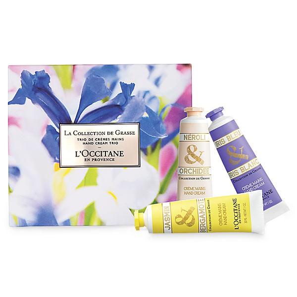 New La Collection de Grasse Hand Cream Trio