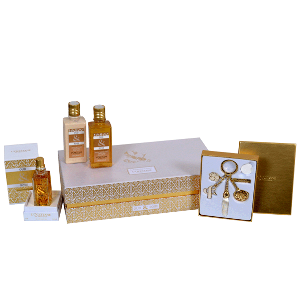 Luxury Oud & Rose Set