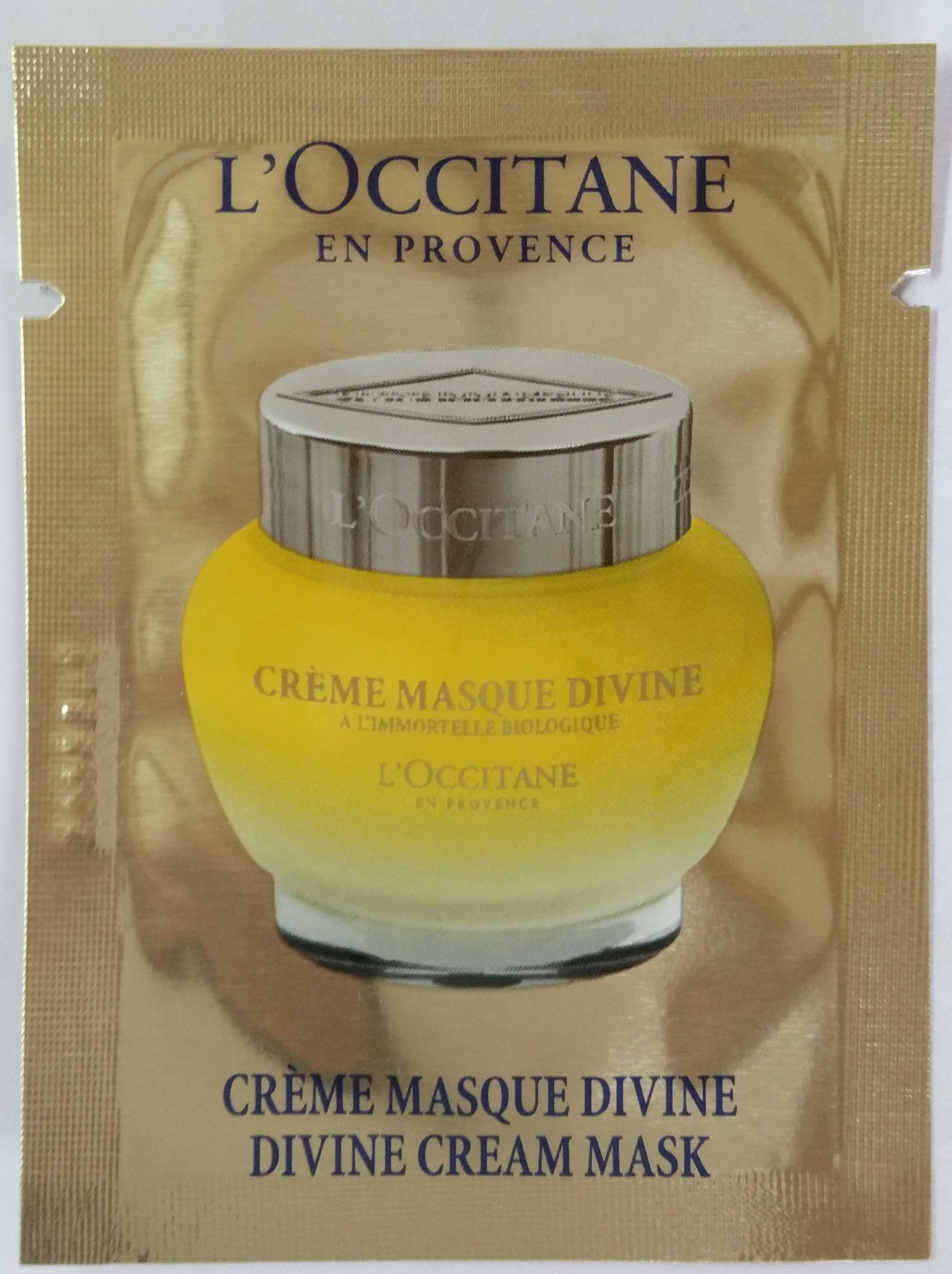 Sample - Divine cream mask