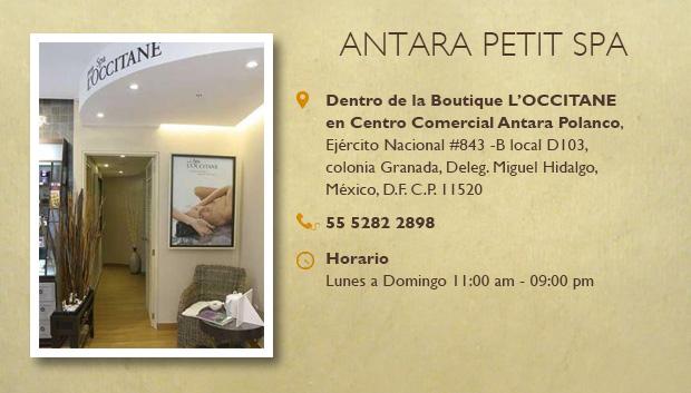 Antara petit Spa