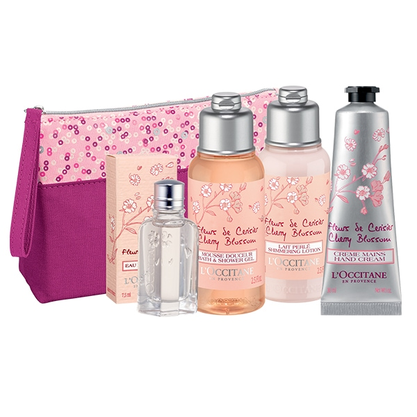 VALENTINE'S DAY GIFT SET FOR HER CHERRY BLOSSOM