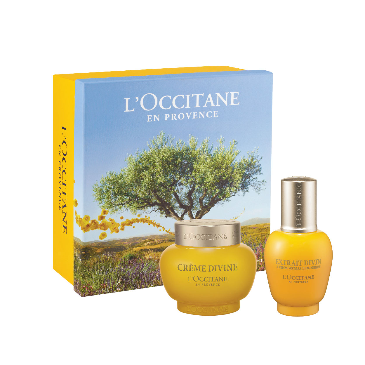 Immortelle Divine Cream & Extract Set