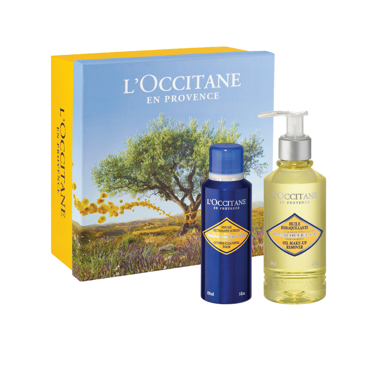 Immortelle Intense Foam & Cleansing Oil Set