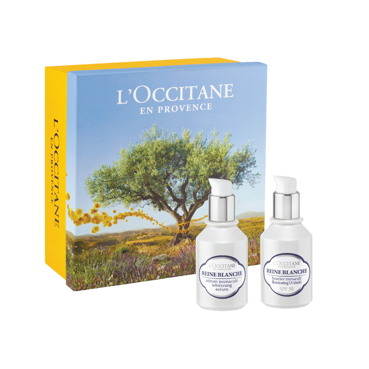 Reine Blanche Serum & UV Set