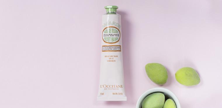 Almond Hand Cream SPF15