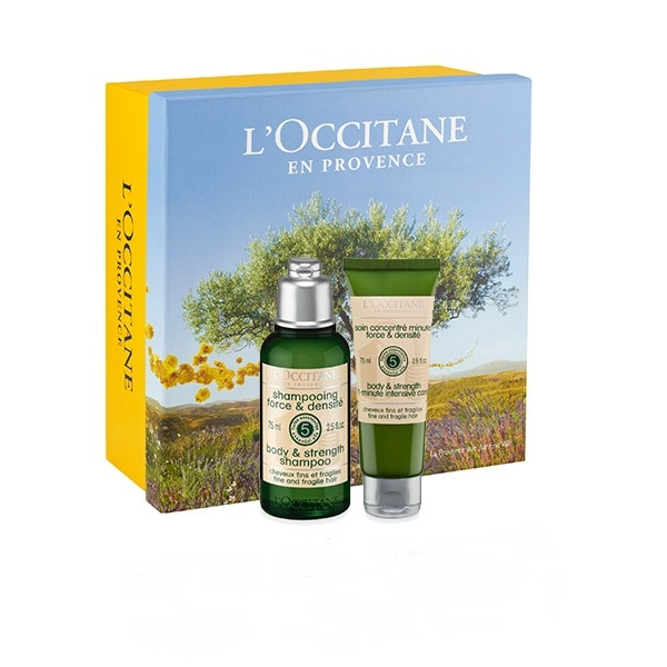 Aromachologie Hair Body & Strength Travel Set
