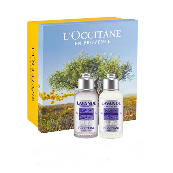 Lavender Body & Shower Travel Set