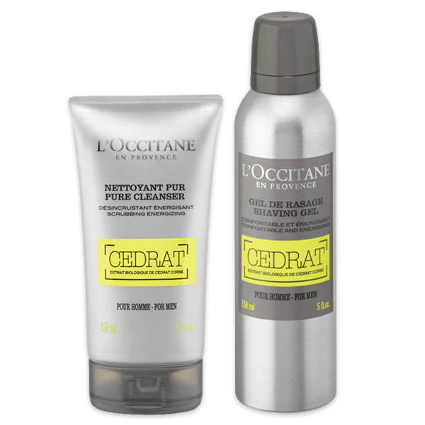 Duo Cedrat - Gel de Barbear & Gel Esfoliante