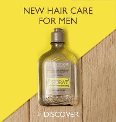 NEW HAIR CARE FOR MEN >
