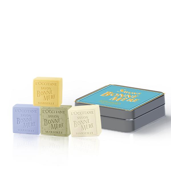 Bonne Mere Soap Quartet