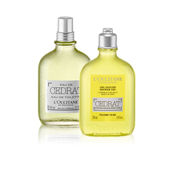 Cedrat Fragrance Duo