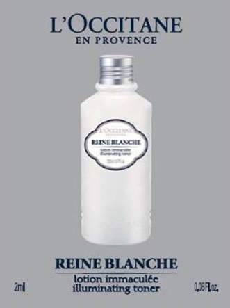 Reine Blanche Illuminating Toner Sample