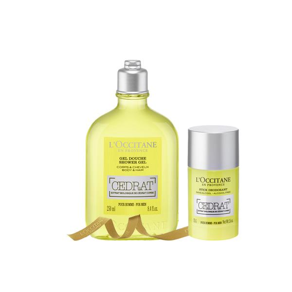 Citrus Cedrat Bath & Body Duo