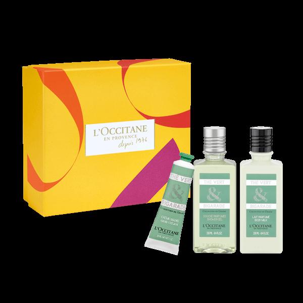 Подарок «Коллекция Грасса, Зеленый чай & Горький апельсин»