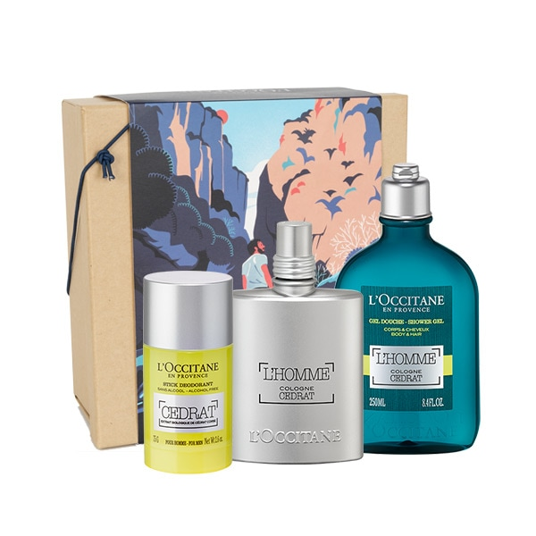 Zesty L'Homme Cologne Cédraat Perfume Set For Him