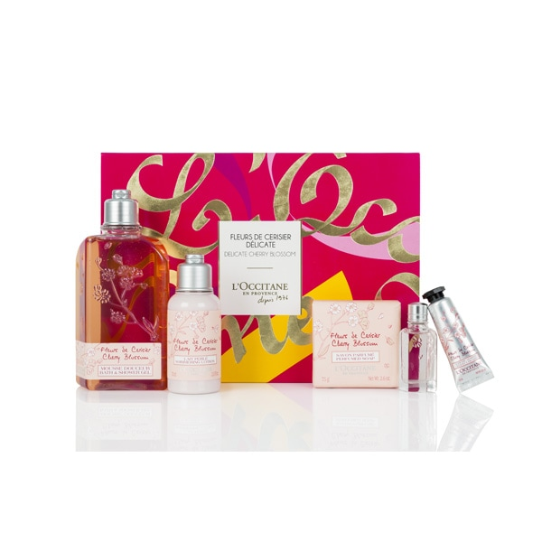 Cherry Blossom Holiday Gift Set