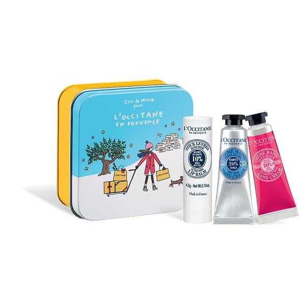 L'OCCITANE Special Edition Shea Butter Lip&Hand Care Gift Set