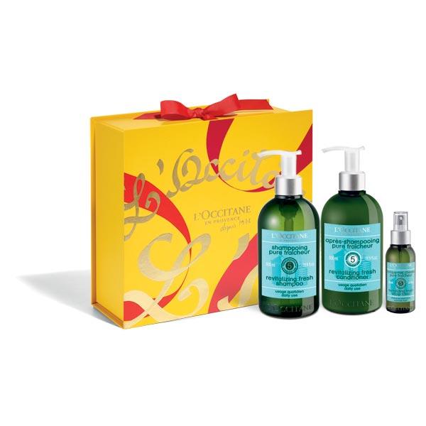 Aromachologie Revitalizing Hair Care Gift Set