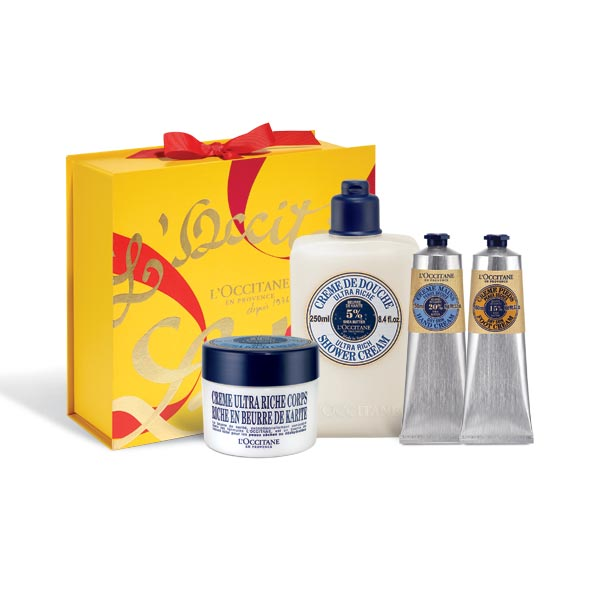 Shea Butter Bodycare Gift Set