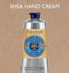 SHEA HAND CREAM >