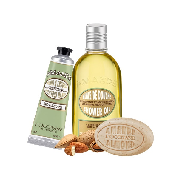 Almond Body Care Set