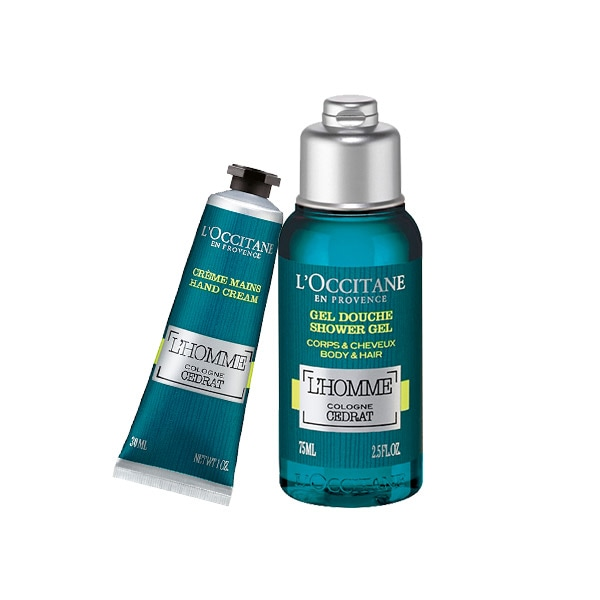 L'Homme Cologne Cedrat Duo with hand cream