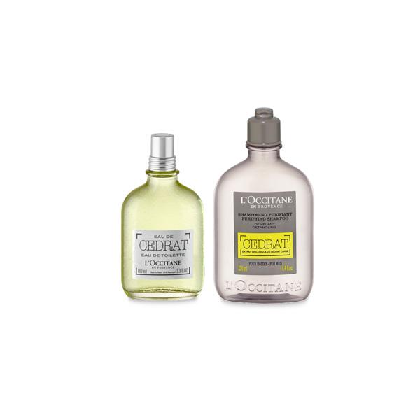 Cedrat Parfüm & Şampuan İkilisi