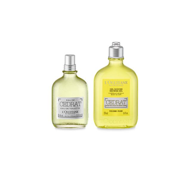 Cedrat Parfüm & Duş Jeli İkilisi