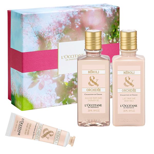 Подарок «Коллекция Грасса, Нероли & Орхидея»