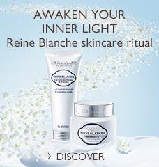 REINE BLANCHE SKINCARE RITUAL >