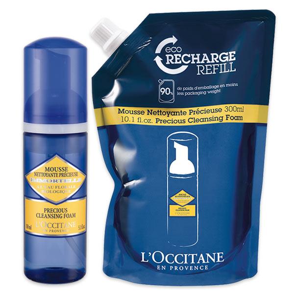 Combo EcoRefil Espuma de Limpeza Facial Immortelle