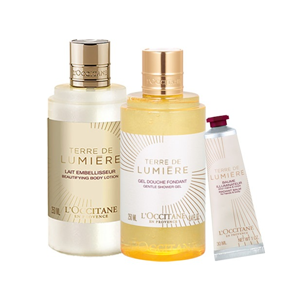 Terre de Lumière Body Care Set for Special Price