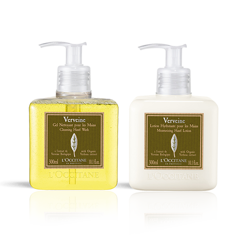 Verbena Hand Wash & Lotion Duo