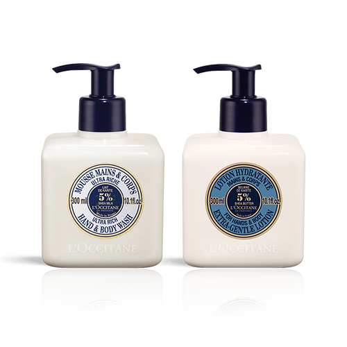 Shea Butter Hand Wash & Lotion Duo