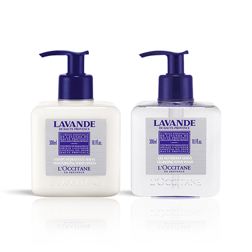 Lavender Hand Wash & Lotion Duo