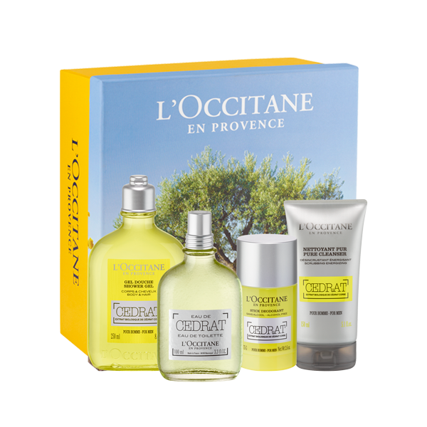 Cedrat Collection Gift Set For Men