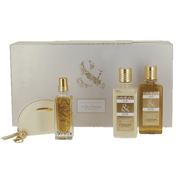 Luxury Oud & Rose Gift Set
